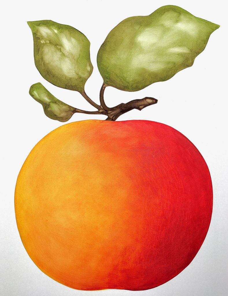 theorem painting of a fruit