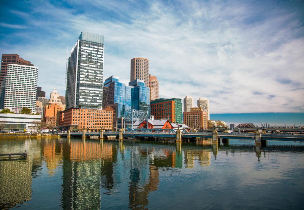 Photo of Boston Harbor