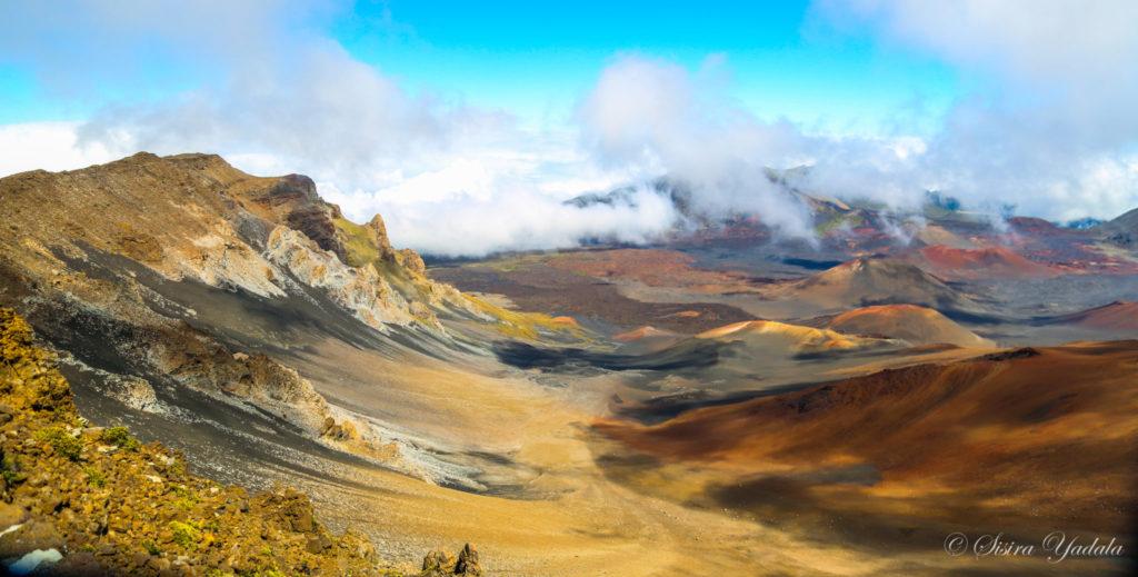 Image of Haleakala volcano